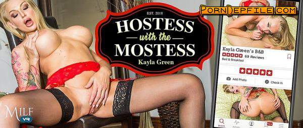 MilfVR: Kayla Green - Hostess with the Mostess (Blonde, Big Tits, Milf, VR) (Oculus) 2300p