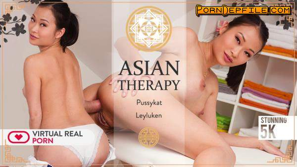 VirtualRealPorn: Leyluken, Pussykat - Asian therapy (VR, Massage, SideBySide, Gear VR) (Samsung Gear VR) 2160p