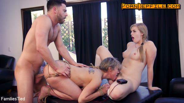 FamiliesTied, Kink: Dee Williams, Dolly Leigh - Teen Religious Fanatic Punishes Liberal Anal Step-Mommy (Milf, Incest, BDSM, Bondage) 540p
