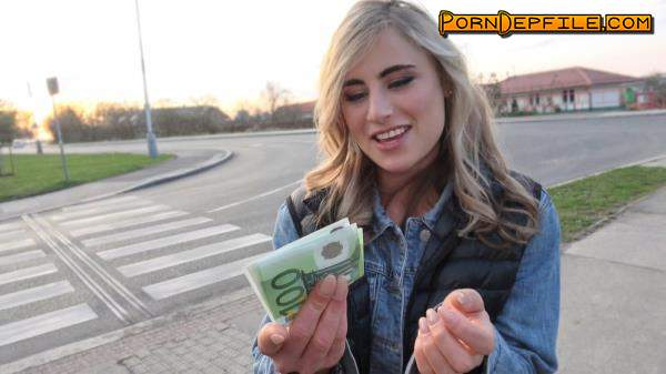 PublicAgent, FakeHub: Lindsey Cruz - Sexy American blonde sex for cash (Outdoor, POV, Deep Throat, Facial) 720p