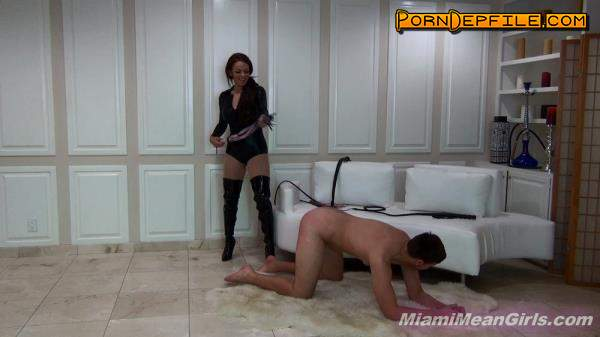 MiamiMeanGirls: Princess Carmela - New Slave Learns Pain (Oral, Brunette, Fetish, Femdom) 1080p