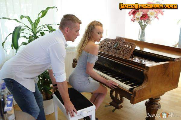 Beauty4K, TeenMegaWorld: Angel Emily - Hot Foreplay after Piano Four - Hands (Facial, Small Tits, Blonde, Teen) 404p