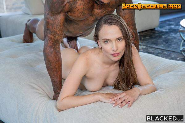 Blacked: Izzy Lush - The Second I Saw Him (Hairy, Facial, Cowgirl, Interracial) 480p