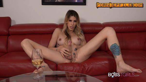 Bobs-TGirls: Casey Kisses - Casey Kisses Wine Before Dessert (Solo, Transsexual, Pissing, Shemale) 1080p