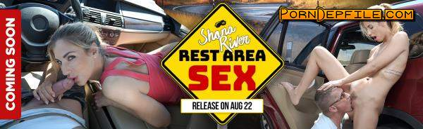 RealityLovers: Shona River - Rest Area Sex POV (Brunette, VR, SideBySide, Oculus) (Oculus) 1920p