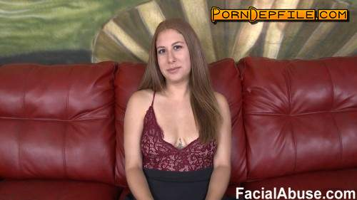 FacialAbuse: A Cuck Lives At Home (Blowjob, Deep Throat, Facial, Anal) 360p