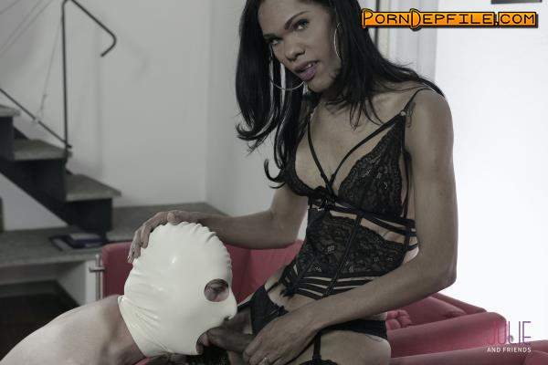 JolieAndFriends: Priscilla Modella - The Black Panther (Anal, Transsexual, Fetish, Shemale) 720p
