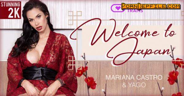 VirtualRealTrans: Mariana Castro - Welcome to Japan (Shemale, SideBySide, Smartphone, Gear VR) (Smartphone, Mobile, Gear VR) 1440p