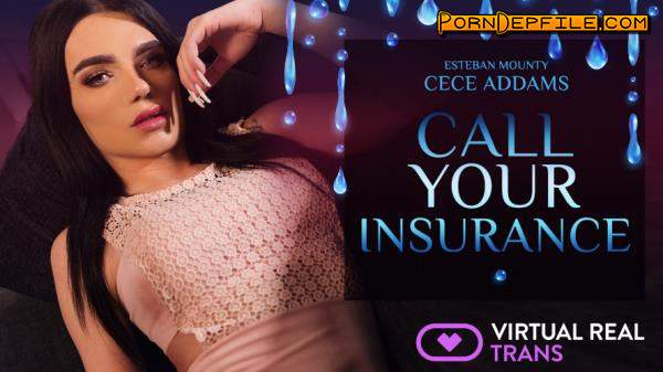 VirtualRealTrans: Cece Addams - Call Your Insurance (VR, Shemale, SideBySide, Smartphone) (Smartphone, Mobile) 1080p