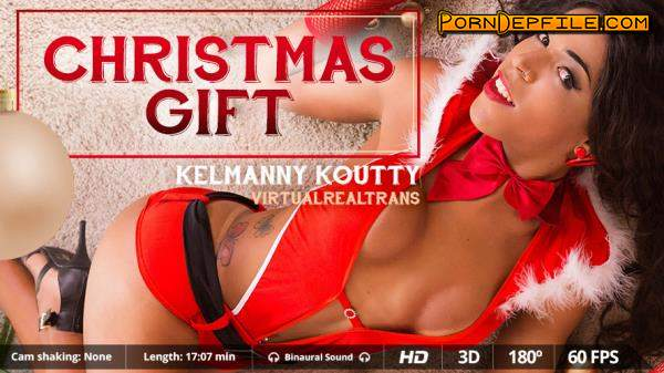 VirtualRealTrans: Kelmanny Koutty - Christmas Gift (Shemale, SideBySide, Smartphone, Gear VR) (Smartphone, Mobile, Gear VR) 1440p