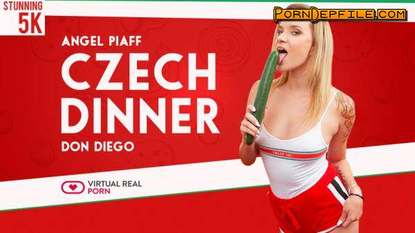 VirtualRealPorn: Angel Piaff, Don Diego - Czech dinner (Blonde, VR, SideBySide, Oculus) (Oculus) 2700p