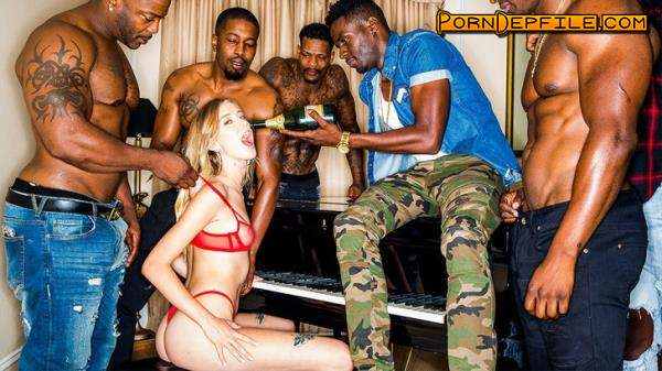BlackedRaw: Haley Reed - Pass Me Around (SD, Group Sex, Interracial, Anal) 480p