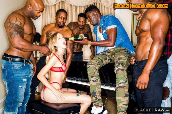 BlackedRaw: Haley Reed - Pass Me Around (Hairy, Group Sex, Interracial, Anal) 720p