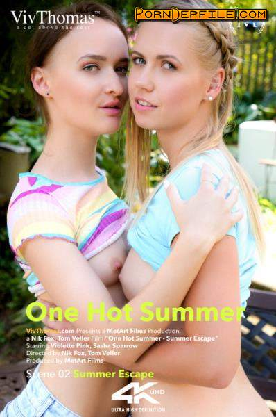 VivThomas, MetArt: Sasha Sparrow, Violette Pink - One Hot Summer Episode 2 - Summer Escape (HD Porn, Lesbian) 720p
