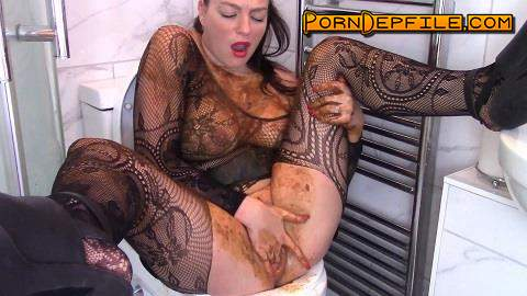 ScatShop: Evamarie88 - Goth Chick Plays With Scat (Scat) 1080p