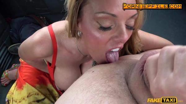 FakeTaxi, FakeHub: Stacey Saran - Sex Addict Fucks In Taxi (Blonde, Big Ass, Big Tits, Milf) 368p