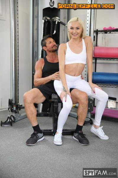 SpyFam: Chloe Temple - Step Dad Gives Step Daughter Pussy Work Out (Facial, Blonde, Teen, Incest) 1080p