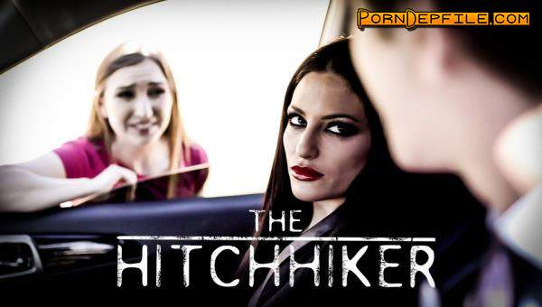 PureTaboo: Gracie May Green, Kissa Sins - The Hitchhiker (Deep Throat, Teen, Threesome, Incest) 400p