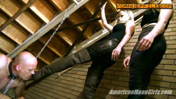 AmericanMeanGirls: The Slave Under The Stairs (HD Porn, FullHD, Fetish, Femdom) 1080p