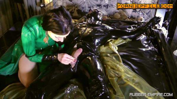 Rubber-Empire: Machined Extracted And Looked Up Again (HD Porn, Fetish, Rubber, Femdom) 720p