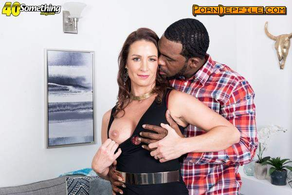 40somethingmag, PornMegaLoad: Eliza Kelay - Ass-fucked by a big, black cock (FullHD, Milf, Interracial, Anal) 1080p