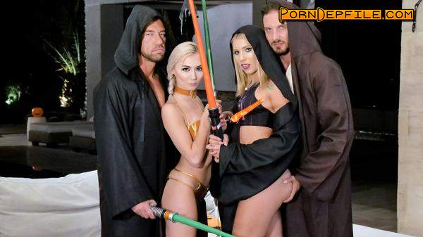 DaughterSwap, TeamSkeet: Chanel Grey, Chloe Temple - Turning Our Daughters To The Dark Side (Facial, Blonde, Teen, Incest) 480p