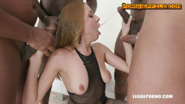 LegalPorno: Molly, Joachim Kessef, Tony Brooklyn, Max Rajoy, Darnell Black - Young Molly gets black treatment balls deep & double anal IV228 (SD, GangBang, Interracial, Anal) 480p