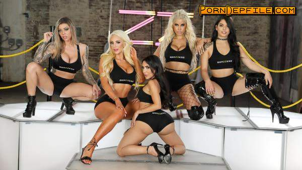 ZZSeries, Brazzers: Bridgette B, Gina Valentina, Karma Rx, Lela Star, Nicolette Shea - Brazzers House 3: Finale (Anilingus, Big Tits, Group Sex, Anal) 480p