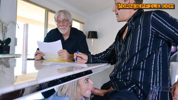 ExxxtraSmall, TeamSkeet: Stevie Grey - Business And Petite Pleasures (Facial, Deep Throat, Blonde, Teen) 480p