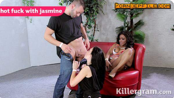 Pornostatic, Killergram: Kiki Minaj, Jasmine Jae - A Hot Fuck With Jasmine (Brunette, Big Tits, Milf, Threesome) 360p