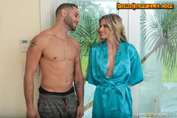 MilfsLikeItBig, Brazzers: Cory Chase - Hot & Sweaty Day (Blonde, Asian, Big Tits, Milf) 480p