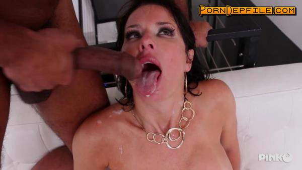 PinkoClub: Veronica Avluv - Very Slutty Brunette MILF Takes An Hard Black Cock All In The Ass (Big Tits, Milf, Interracial, Anal) 406p