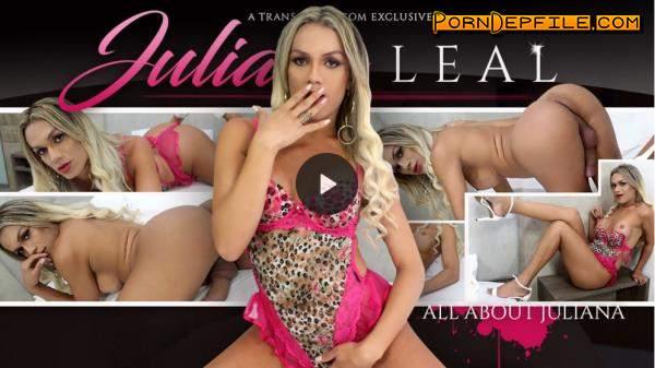 TransAtPlay, Trans500: Juliana Leal - All About Juliana (Masturbation, Solo, Transsexual, Shemale) 360p