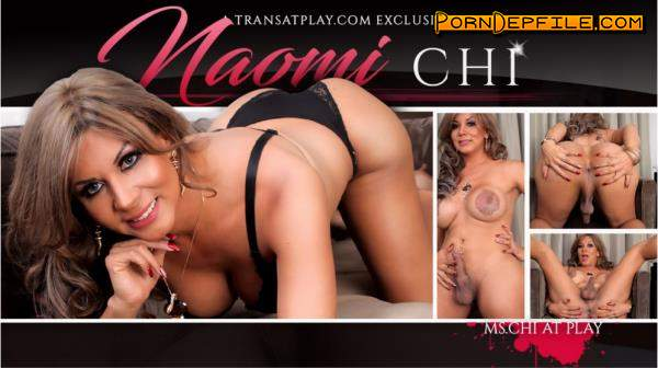 TransAtPlay, Trans500: Naomi Chi - Ms.Chi at Play (Solo, Anal, Transsexual, Shemale) 360p