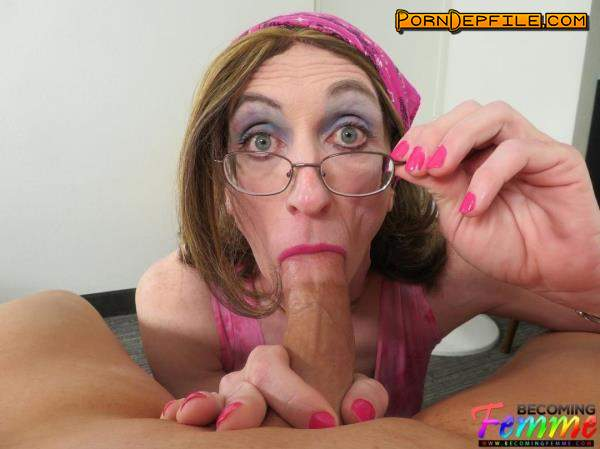 BecomingFemme: Michelle - Hard Working Crossdresser Can'T Resist Your Dick (Blowjob, POV, Transsexual, Shemale) 1080p
