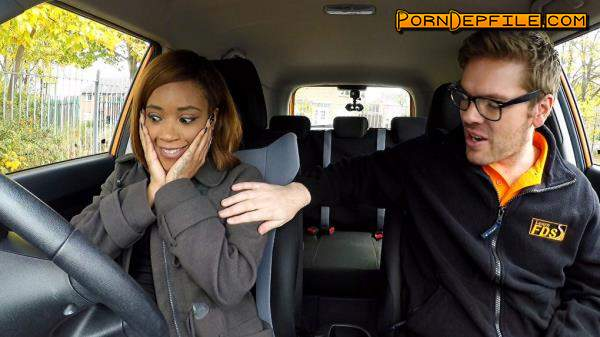 FakeDrivingSchool: Kiki Minaj - Ebonys lesson ends in creampie (Creampie, Masturbation, Big Tits, Interracial) 720p