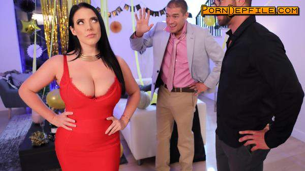 RealWifeStories, Brazzers: Angela White - Fappy New Year (POV, Natural Tits, Brunette, Big Tits) 480p