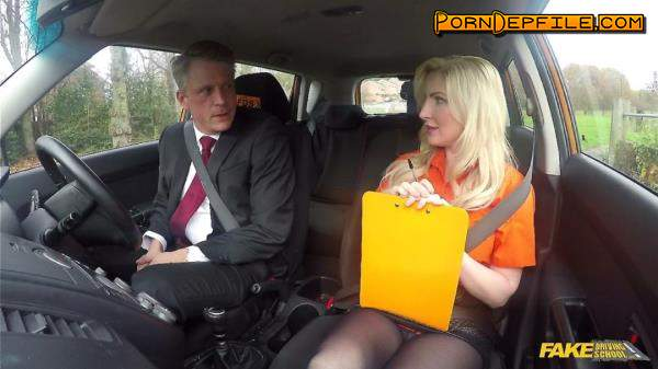 FakeDrivingSchool: Georgie Lyall - Mature Guy Fucks Blonde Bombshell (Doggystyle, Deep Throat, Cowgirl, Big Tits) 720p