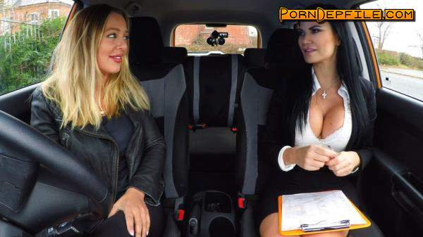 FakeDrivingSchool: Beth Bennett, Jasmine Jae - Hot Blonde Student Has Oral Test (Dildo, Masturbation, Big Tits, Lesbian) 720p