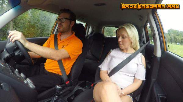 FakeDrivingSchool: Amber Deen - Sexual discount for Scottish babe (Hardcore, Outdoor, Cowgirl, Doggystyle) 480p