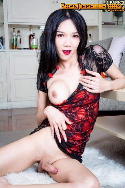 Franks-TgirlWorld: Berry - Berry In An Orgasmic Toy Fucking! (Solo, Transsexual, Shemale, Ladyboy) 1080p