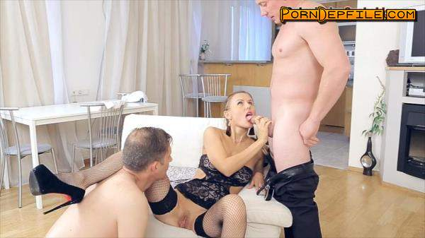 SubmissiveCuckolds: Sabina Moore - Cuckold (Hardcore, Blowjob, Fetish, Femdom) 720p