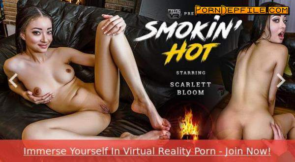 wankzvr: Scarlett Bloom - Smokin' Hot (Interracial, VR, SideBySide, Oculus) (Oculus Rift, Vive) 1600p