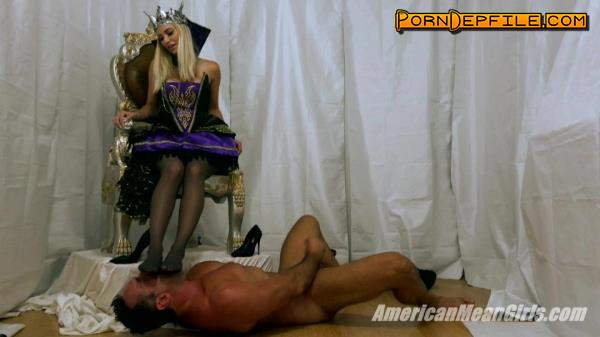 AmericanMeanGirls: The Feet of The Evil Queen Seal Your Fate Forever (HD Porn, FullHD, Fetish, Femdom) 1080p