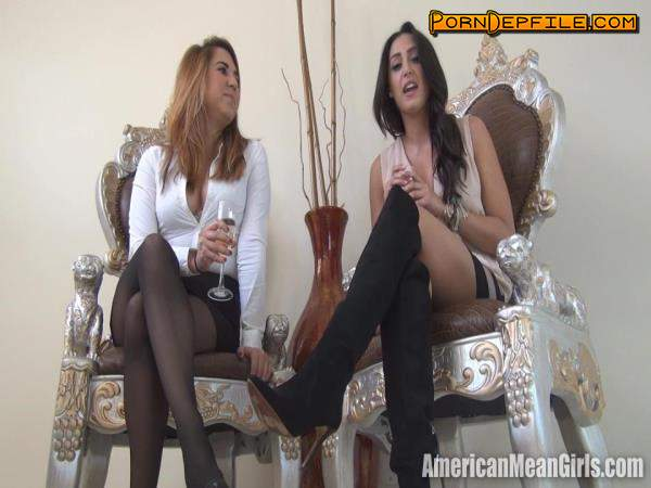 AmericanMeanGirls: Wanna be our Loser (HD Porn, FullHD, Fetish, Femdom) 1080p