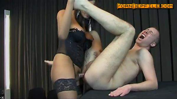 PinkOTgirls: Michelle Gomez - Punishing Her Dog (Blowjob, Anal, Transsexual, Shemale) 360p