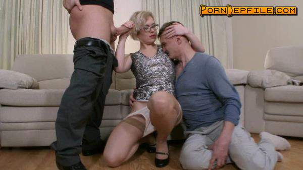 Submissivecuckolds: Mistress Dayana - Wife With Glasses Fuck In Ass (Anilingus, Anal, Fetish, Femdom) 720p