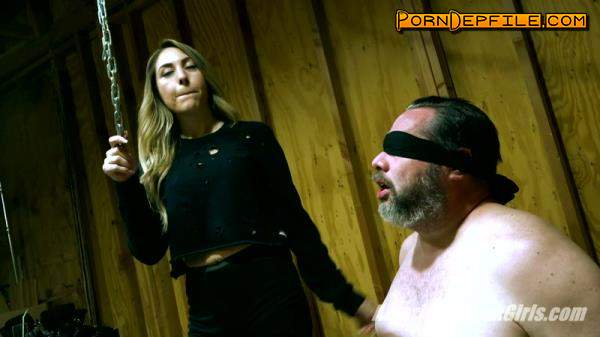 AmericanMeanGirls: WHERE'S MY SLAVE PART 1 (FullHD, Fetish, Smoking, Femdom) 1080p
