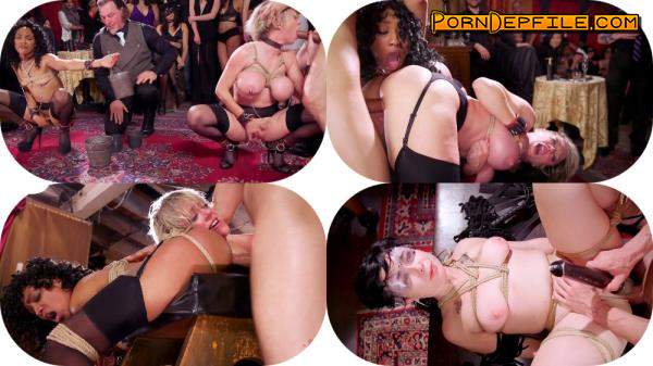 TheUpperFloor, Kink: Nikki Darling, Donny Sins, Dee Williams - Well Trained Anal Sluts Service Folsom Orgy (Anal, Threesome, BDSM, Bondage) 540p