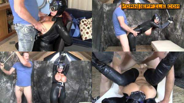 Clips4sale: Goldie Blair - Catwoman Gets Caught (Big Tits, Fetish, Incest, Facesitting) 404p
